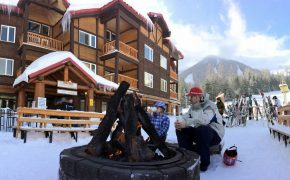 Cornerstone Lodge Fernie – Firepit