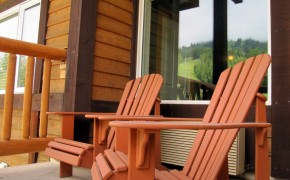 Cornerstone Lodge Fernie – Balcony