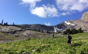 Hiking Cornerstone Lodge Fernie